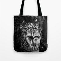 The Wise Simian (Gorilla) Tote Bag