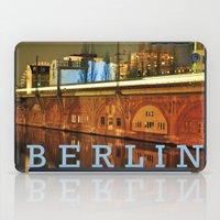 NIGHTTRAIN - RIVERSIDE - BERLIN iPad Case