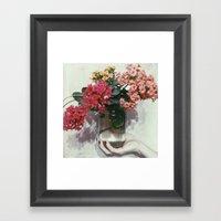 Florajar Framed Art Print
