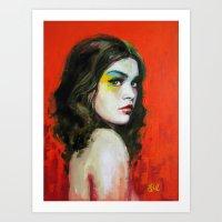Pyro Art Print
