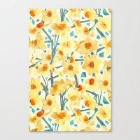 Yellow Jonquils Canvas Print