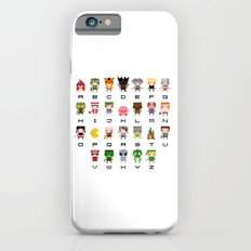 Video Games Pixel Alphabet Slim Case iPhone 6s