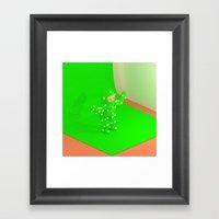 Behind The Scenes Framed Art Print