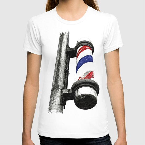 Haircuts here T-shirt