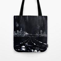 San Francisco Nightdrive Tote Bag