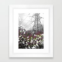 Pylon Framed Art Print