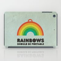 Rainbows Should Be Porta… iPad Case