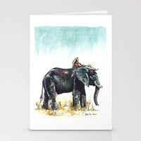 Majestic Safari Stationery Cards
