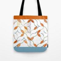 Modern Tiles Tote Bag