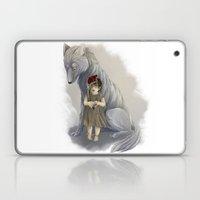 neither human nor wolf Laptop & iPad Skin