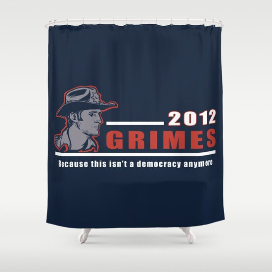 He will keep us safe. Shower Curtain