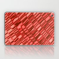 red structure Laptop & iPad Skin