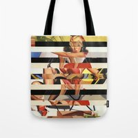 Glitch Pin-Up Redux: Lin… Tote Bag