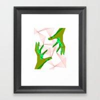 String Theory Framed Art Print