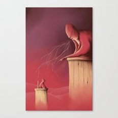 Judgement day Canvas Print