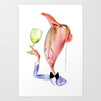 Wine Snob No.1 Art Print