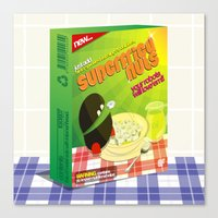 SF Superfried Nuts Canvas Print