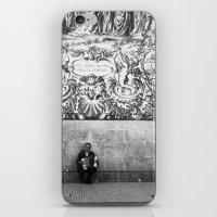 Street Musician iPhone & iPod Skin