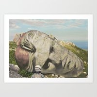 The Man Who Fell To Earth Art Print
