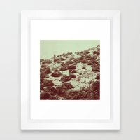 Cold Framed Art Print