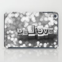 Believe - Vintage Letter… iPad Case