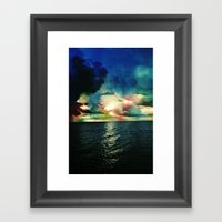 Rise with the Tides Framed Art Print