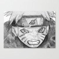 Naruto Canvas Print