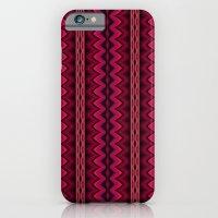 Orange Purple And Pink A… iPhone 6 Slim Case