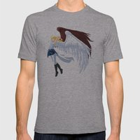 Calling Mens Fitted Tee Athletic Grey SMALL