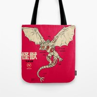 Kaiju Anatomy 2 Tote Bag