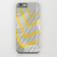iPhone & iPod Case featuring Lady in lines by bri musser