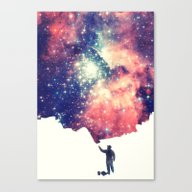 Painting The Universe Canvas Print