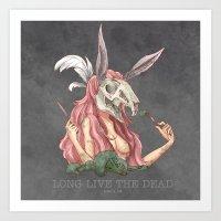 Long Live The Dead - Rab… Art Print
