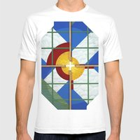 Altered State: CO Mens Fitted Tee White SMALL
