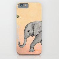 Elephant and the Bird iPhone 6 Slim Case