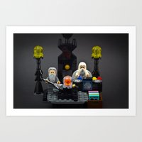 The Band Is Back Togethe… Art Print