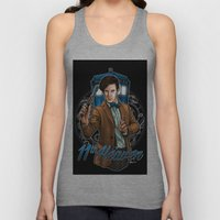 11th Heaven Doctor Who Unisex Tank Top