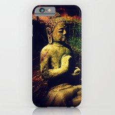 Buddha Sitting In Meditation iPhone 6 Slim Case