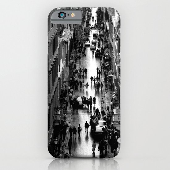 Rome, view from Spanish steps iPhone & iPod Case