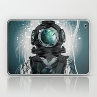 Deep Space Diver Laptop & iPad Skin