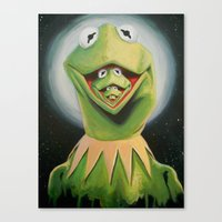 Frogception Canvas Print