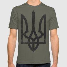 Ukraine Mens Fitted Tee Lieutenant SMALL