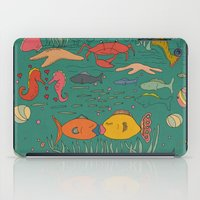 Fishy Kisses iPad Case