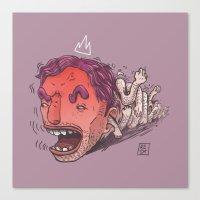 King Hit/Coward Punch Canvas Print