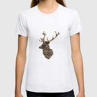 The Enchanted Forest Womens Fitted Tee Ash Grey SMALL
