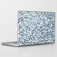 whale Laptop & iPad Skins featuring Whale, Sperm Whale by Elena O'Neill