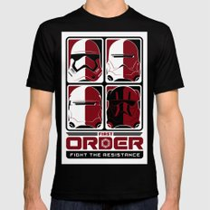 The First Order Mens Fitted Tee SMALL Black