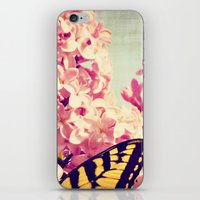 Lilac Monarch iPhone & iPod Skin