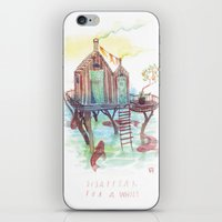 A While iPhone & iPod Skin