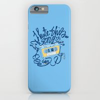 iPhone Cases featuring Sad song by carbine